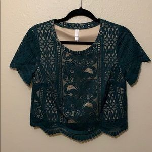 Target lace top